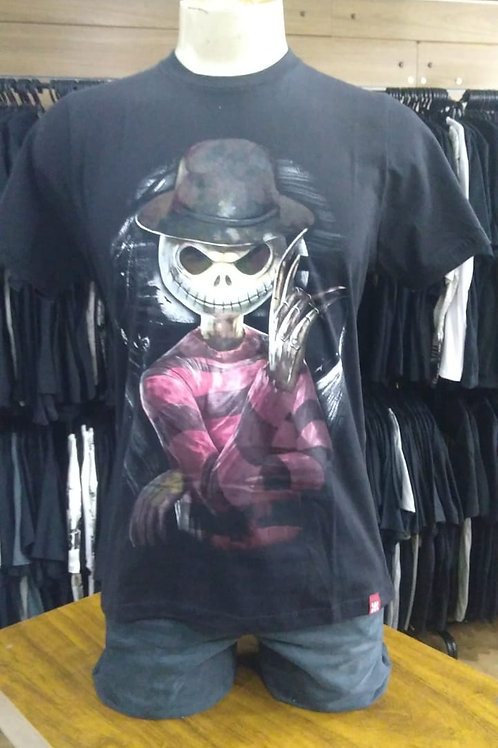 Camiseta Jack Krueger Preto Chemical C1685