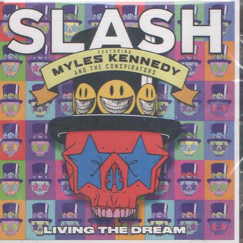 Cd Slash Myles Kennedy Living The Dream