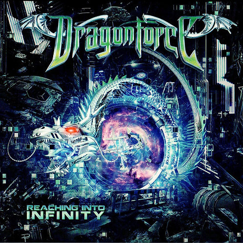 CD DVD Dragonforce Reaching Into Infinity