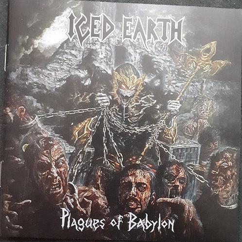 Cd Iced Earth Plagues Of Babylon