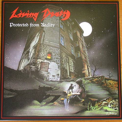 Cd Living Death Protected From Reality Slipcase
