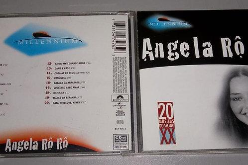 Cd Usado Ângela Rô Rô Millennium 20 Músicas Do Século XX