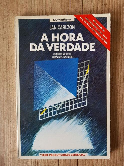 Livro Usado A Hora Da Verdade Jan Carlzon 0605