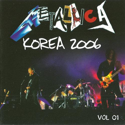 Cd Metallica Korea 2006 Vol 1