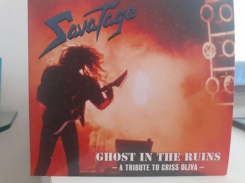 Cd Savatage Ghost In The Ruins A Tribute To Criss Oliva digi