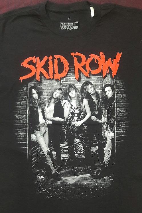 Camiseta Skid Row Foto Preto Consulado E1386