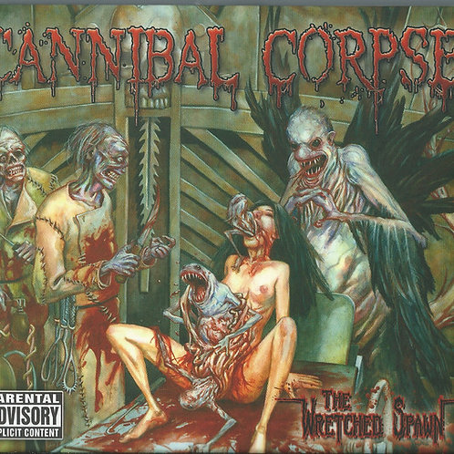 CD DVD Cannibal Corpse The  Wretched Spawn