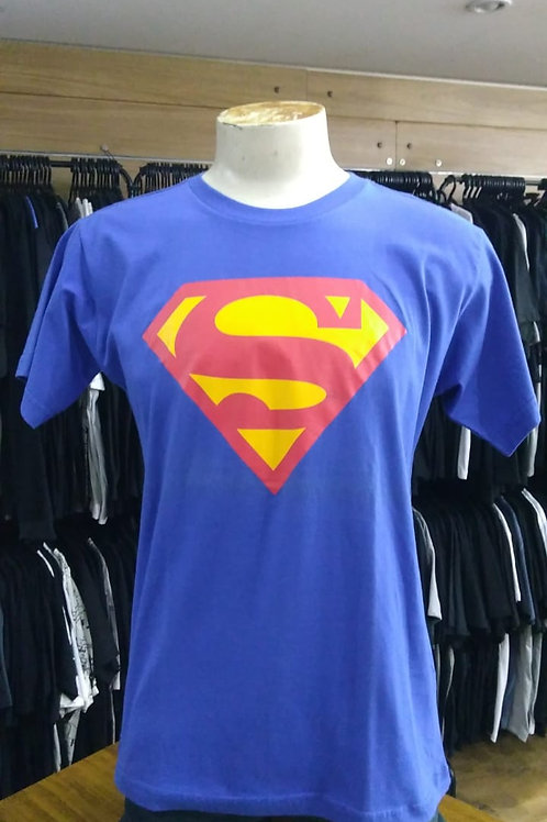 Camiseta Super Man Azul Flash Wear FSML01