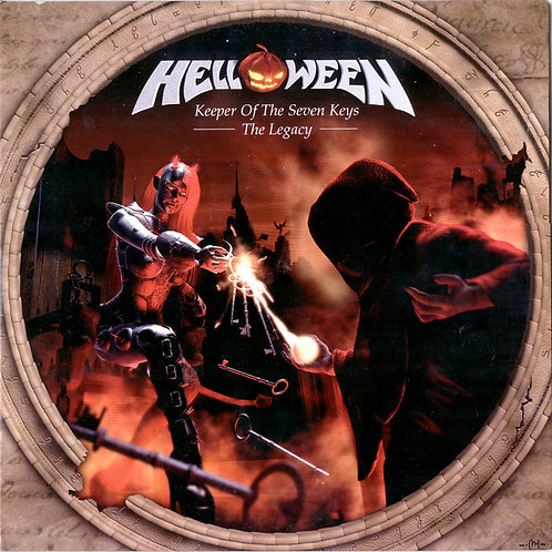 Cd Helloween Keeper Of The Seven Keys The Legacy Duplo