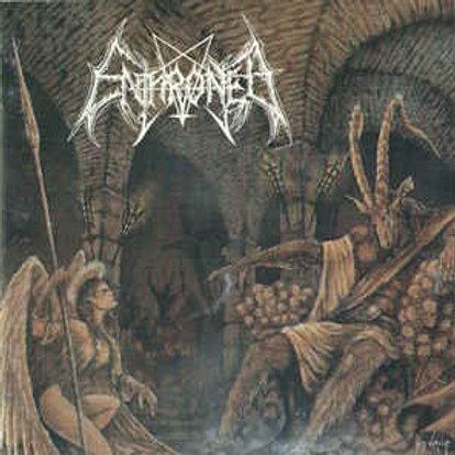 Cd Enthroned Towards the Skullthrone of Satan