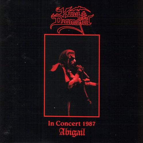 Cd King Diamond  In Concert 1987 Abigail