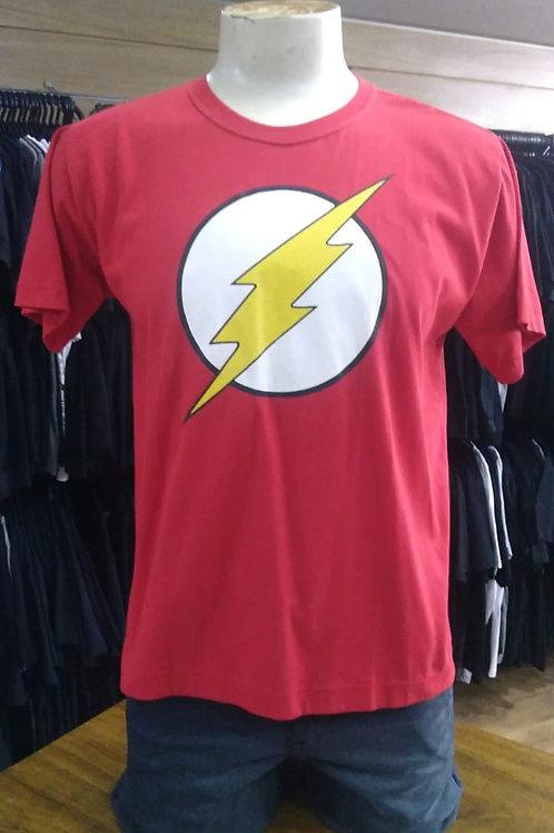 Camiseta The Flash Rock Wear RFL01