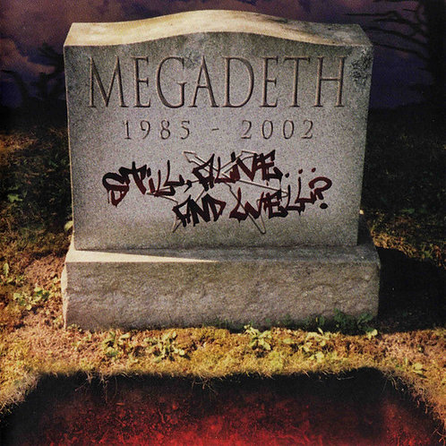 Cd Megadeth Still Alive And Well