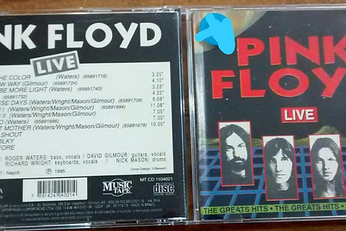 Cd Usado Pink Floyd The Greatest Hits Live