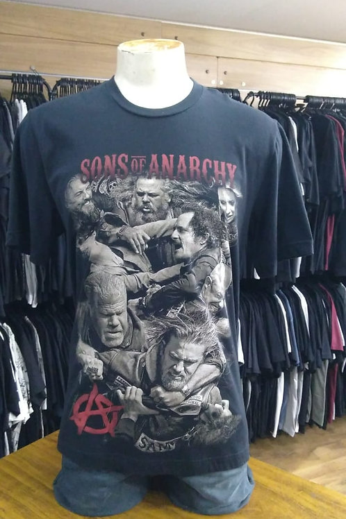 Camiseta Sons Of Anarchy Bomber SOA02