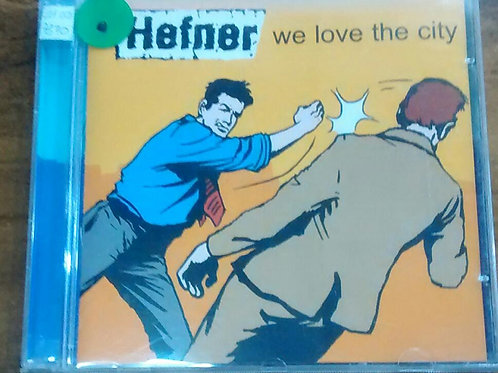 Cd Usado Hefner We Love The City