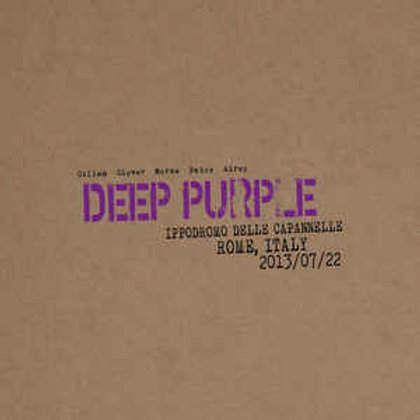 Cd Deep Purple Live In Rome 2013 Duplo