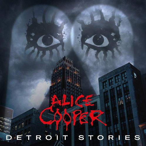 CD DVD Alice Cooper Detroit Stories Digipack
