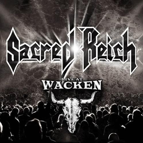 CD DVD Sacred Reich Live At Wacken Digipack