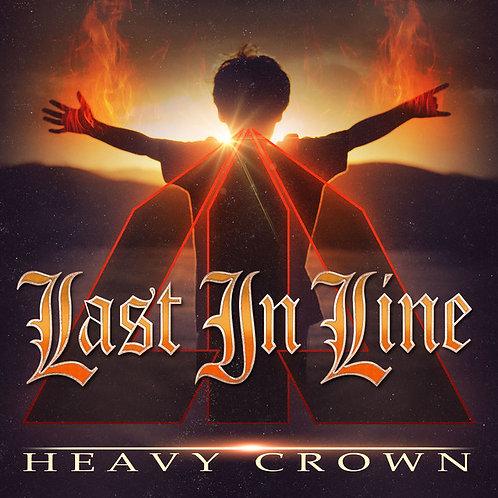 CD DVD Last In Line Heavy Crown Deluxe Digipack