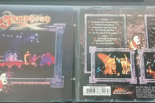 Cd Usado Symphony X Live On The Edge of Forever