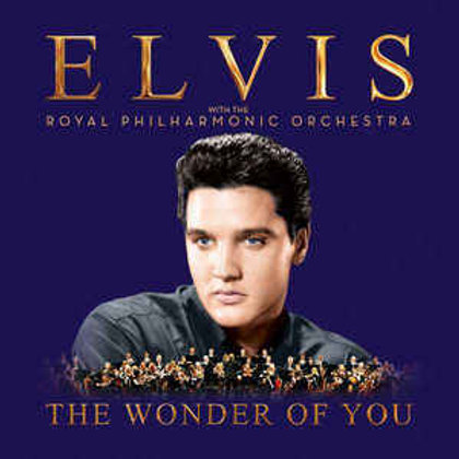 Cd Elvis With The Royal Orchestra The Wonder of You