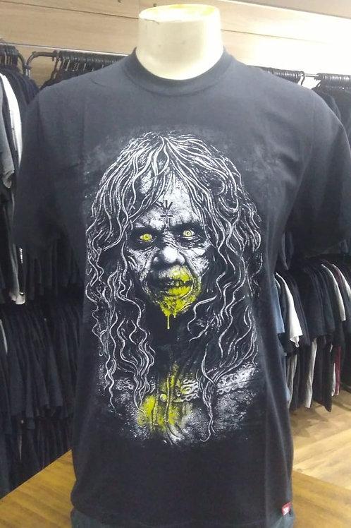 Camiseta Exorcista Preto Chemical C1483
