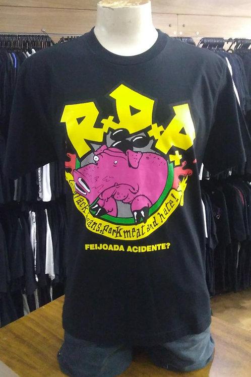 Camiseta Ratos de Porão Feijoda Acidente? E688