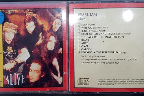 Cd Usado Pearl Jam On Stage Alive
