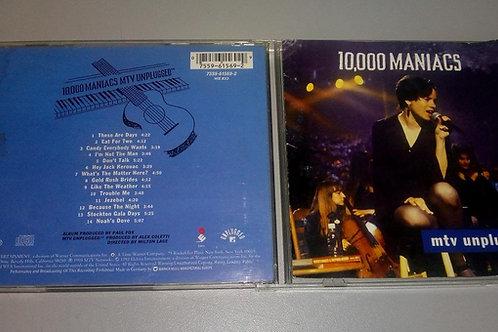 Cd Usado 10000 Maniacs MTV Unplugged