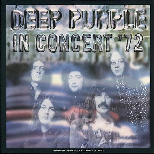 Cd Deep Purple In Concert ''72