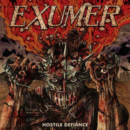 Cd Exumer Hostile Defiance Slipcase