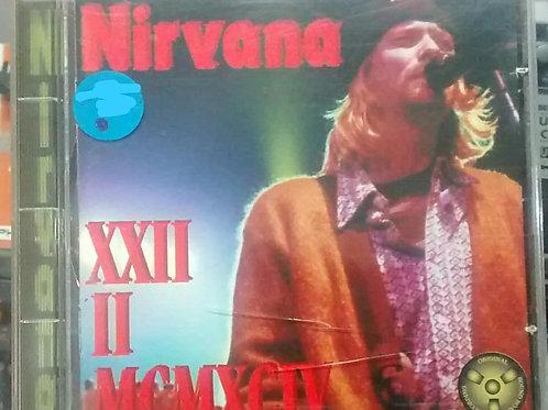 Cd Usado Nirvana XXII II MCMXCIV