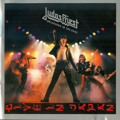 Cd Judas Priest Unleashed In The East Live In Jap Importado