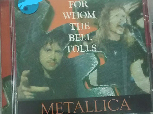 Cd Usado Metallica For Whom The Bell Tolls