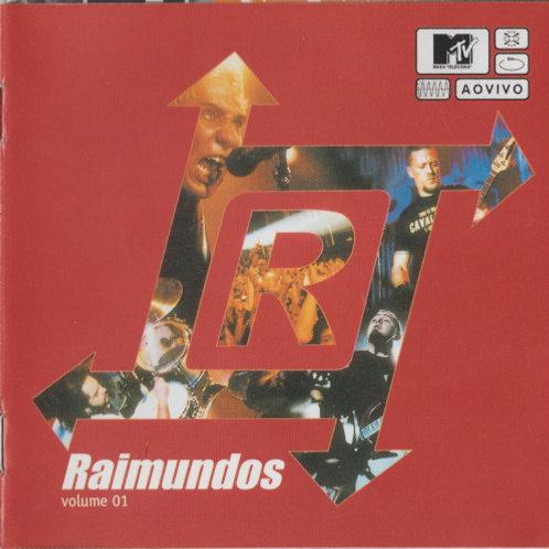 Cd Raimundos Mtv Ao Vivo Volume 01