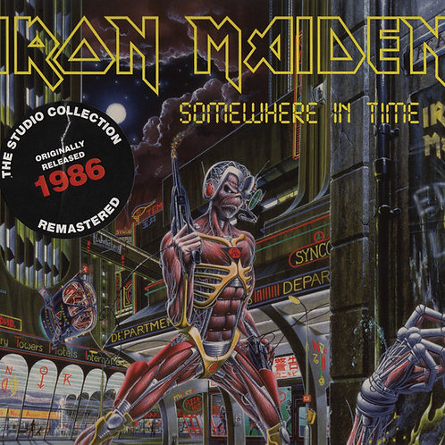 Cd Iron Maiden Somewhere In Time Digipack