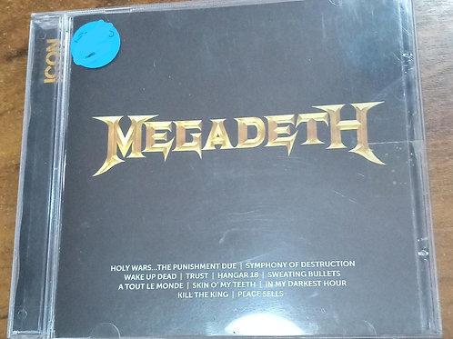 Cd Usado Megadeth Icon