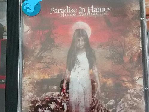 Cd Usado Paradise In Flames Homo Morbus Est