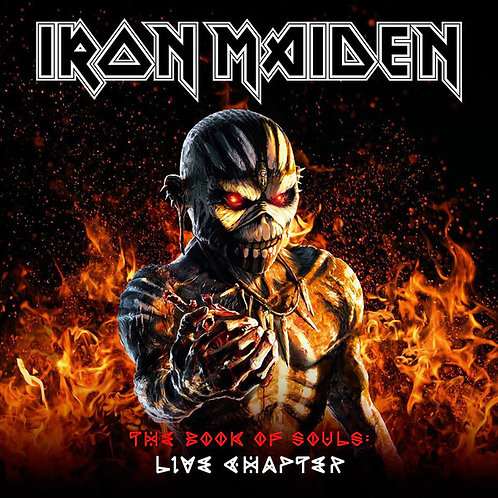 Cd Iron Maiden The Book Of Souls Live Chapter