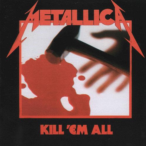 Cd Metallica Kill ´Em All