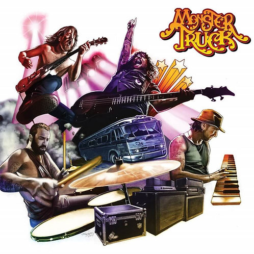 Cd Monster Truck True Rockers Digipack
