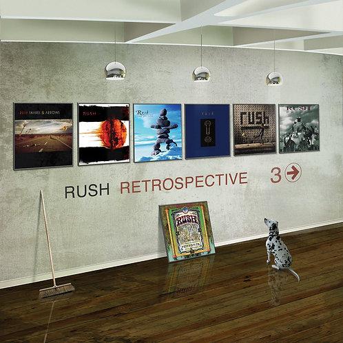 CD DVD Rush Retrospective 3 Rush
