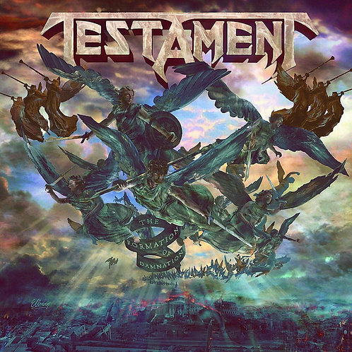 Cd Testament The Formation of Damnation Importado Argentino