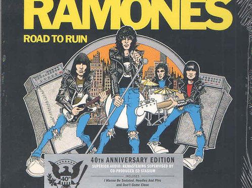 Cd Ramones Road To Ruin 40th Anniversary Edition Digipack