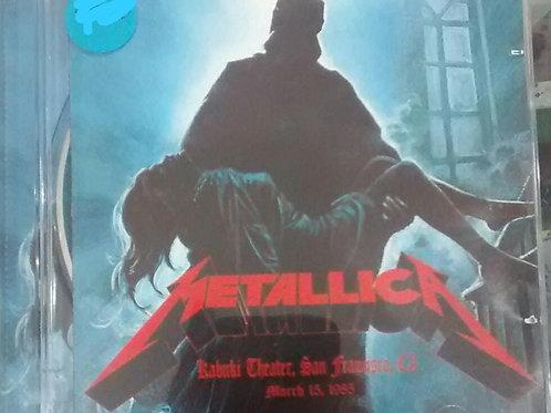 Cd Usado Metallica Live at Kabuki Theater San Francisco 1985