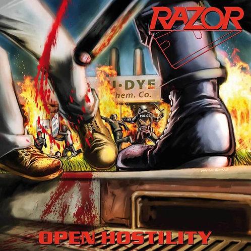 Cd Razor Open Hostility Slipcase