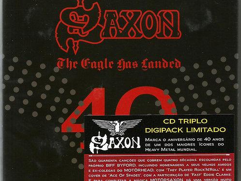 Cd Saxon The Eagle Has Landed Box TRIPLO