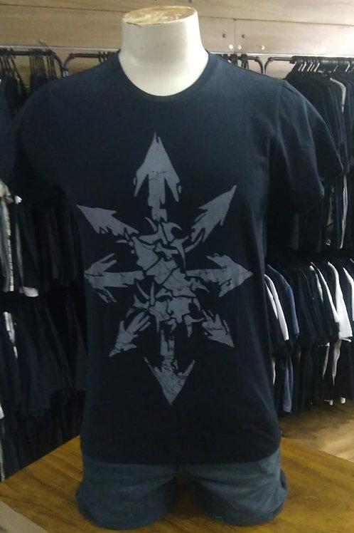Camiseta Sepultura Chaos Setas Preto Mr. Baboo MBSP2
