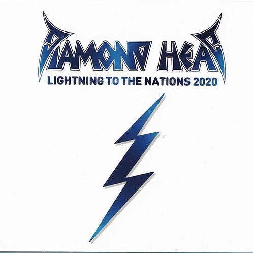 Cd Diamond Heads Lightning To The Nations 2020 Digipack